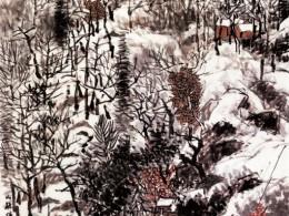 《山林积雪图》