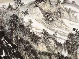 《屋绕湾溪树绕山》