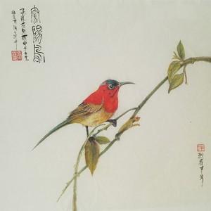 太阳鸟-独雀寻芳系列~1