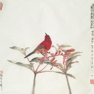 太阳鸟-独雀寻芳系列~8