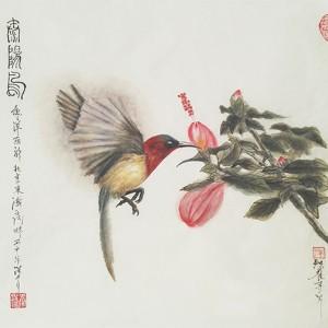 太阳鸟-独雀寻芳系列~6
