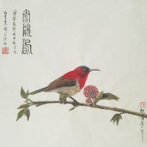 太阳鸟-独雀寻芳系列~5