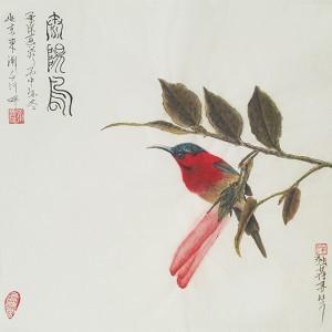 太阳鸟-独雀寻芳系列-4