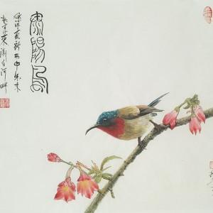 太阳鸟-独雀寻芳系列~7